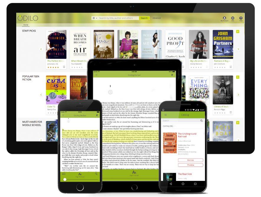 Odilo App on Window Devices
