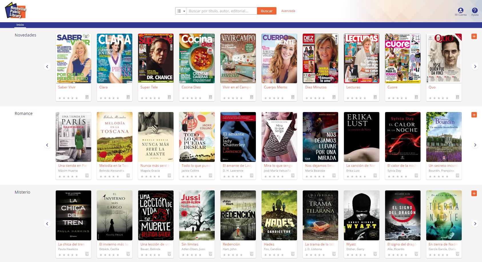 Nashville eBook platform