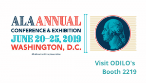 ODILO will present its Intelligent Digital Library at the ALA Annual 2019 Exhibition in Washington DC